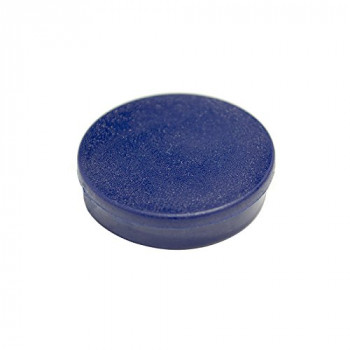 Bi-Silque 30 mm Round Magnet - Blue (Pack of 10),IM130409