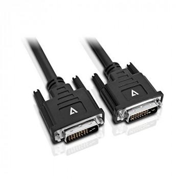 V7 - CABLES DVI-D TO DVI-D 5M CABLE BLACK .