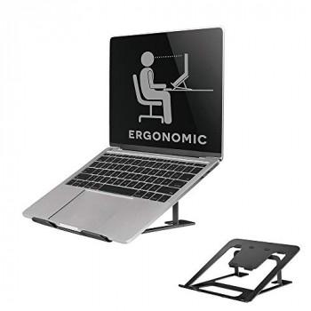 Newstar Notebook Desk Stand (NSLS085BLACK) ergonomic