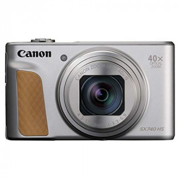 Canon SX740 HS PowerShot Digital Camera - Silver