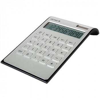 Genie 12353 Desktop Calculator - Silver