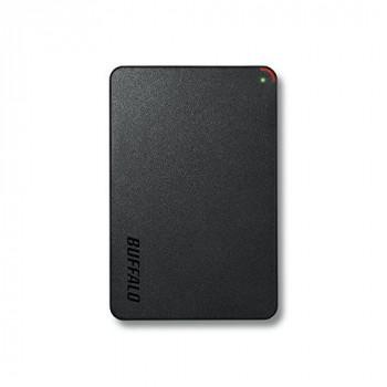 Buffalo HD-PCF2.0U3BD-WR 2 TB MiniStation Portable USB 3.0 2.5-Inch Hard Disk Drive - Black