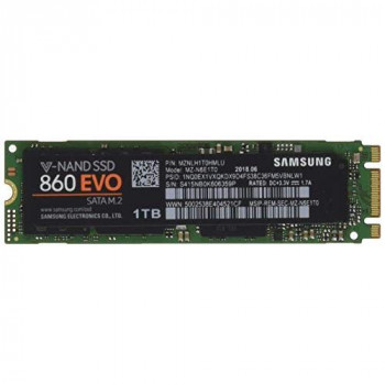 Samsung 1 TB 860 EVO M.2 Sata III Solid State Drive
