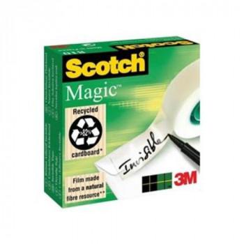 3M Scotch Magic Tape, 25 mm x 66 m - Clear