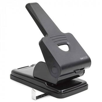 Rapesco 1163 865-P2 Hole Punch Heavy Duty, 63 Sheet Capacity - Black