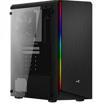 Aerocool Rift Tempered Glass RGB MID TOWER CASE