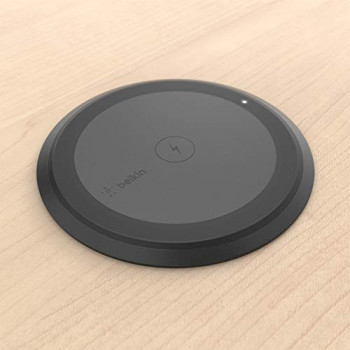 Belkin Boost Up Wireless Charging Spot, 10 W Tabletop Wireless Charger for Commercial Use, Installation Required (Surface Installation)