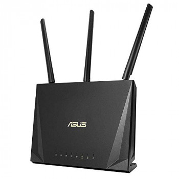 ASUS RT-AC85P Wireless-AC2400 Dual Band Mobile Gaming Gigabit Router, MU-MIMO Tech, Adaptive QoS, Traffic Analyzer, AiRadar, USB 3.1 (Generation 1), 3G/4G