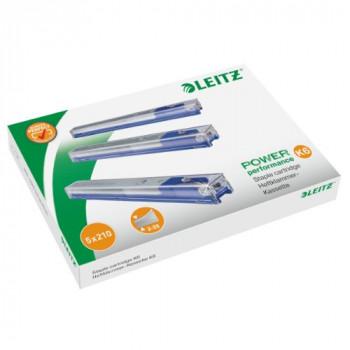 Leitz 55910000 Staple Cassette Cartridge for Heavy Duty Stapler 6 mm - Pack of 5