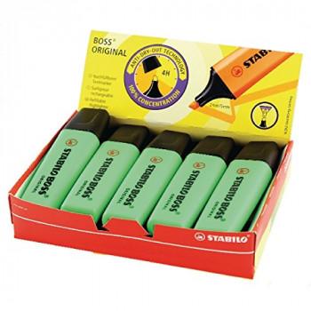 Stabilo Boss Highlighter Green Pack of 10