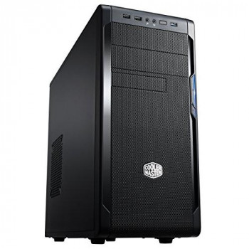 Cooler Master N300 Computer Case - ATX, microATX Motherboard Supported - Mid-tower - Polymer - Midnight Black - 5.20 kg