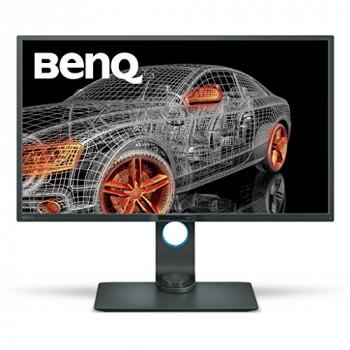 BenQ PD3200Q 32 inch 2K Designer Monitor (2560x1440, 2K QHD, 100% Rec 709, sRGB, CAD/CAM, Animation, Darkroom Mode, KVM, Hotkey Puck, DualView, Low Blue Light, Flicker-Free)