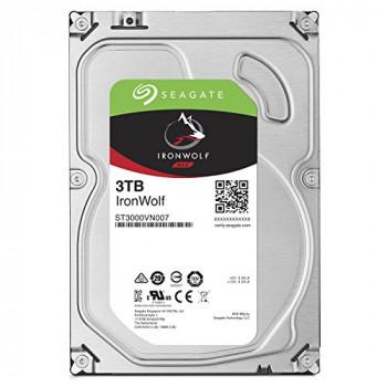 "Seagate 3.5"", 3TB, SATA3, IronWolf NAS Hard Drive, 5900RPM, 64MB Cache"