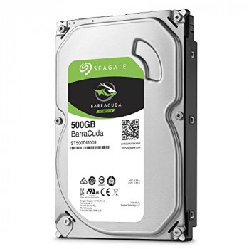 "Seagate Barracuda ST500DM009 - Hard drive - 500 GB - internal - 3.5"" - SATA 6Gb/s - 7200 rpm - buffer 32 MB"