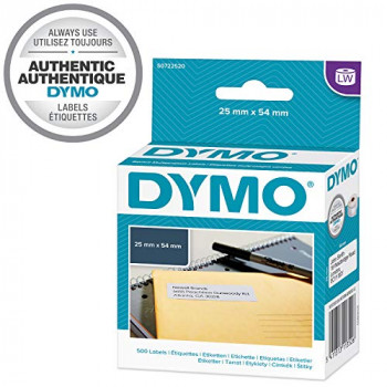 Dymo 11352 Address Label - 25 mm Width x 54 mm Length - 1 Roll