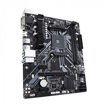 Gigabyte B450M S2H AMD Socket AM4 Micro ATX DDR4 VGA/DVI-D/HDMI USB 3.1 M.2 Motherboard