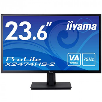 "Iiyama ProLite 24"" VA Full HD Black HDMI DP"
