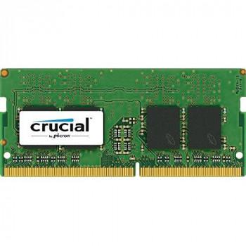 Crucial - DDR4 - 16 GB - SO-DIMM 260-pin - 2400 MHz / PC4-19200 - CL17 - 1.2 V - unbuffered - non-ECC