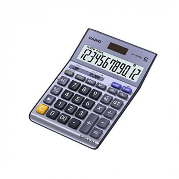 Casio DF-120TERII 12 Digit Tax and Currency Desk Calculator