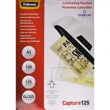 Fellowes ImageLast A3 125 Micron Laminating Pouch - (Pack of 100)