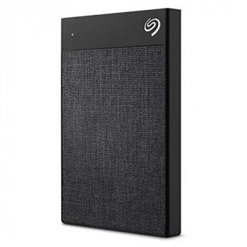 Seagate Backup Plus Ultra Touch (2TB) USB-C Portable Hard Drive External (Black)