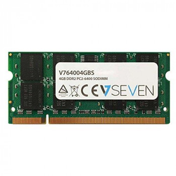 V7 V764004GBS 4 GB DDR2 PC2-6400 800 MHz SO DIMM Notebook Memory Module