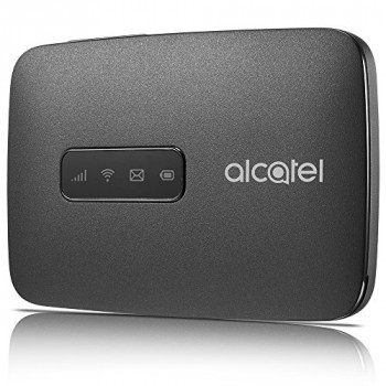 Alcatel LinkZone 4G 150 Mbps Wi-Fi Hotspot Router Black