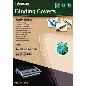 Fellowes Earth Series A4 Polypropylene Binding Cover (Pack of 100)