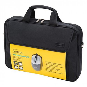 "Dicota Value Toploader Laptop Bag 14-15.6"" and Mouse bundle"