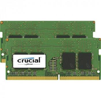 Crucial 8GB Kit (4GBx2) DDR4 2400 MT/s (PC4-192000) SODIMM 260-Pin Memory - CT2K4G4SFS824A