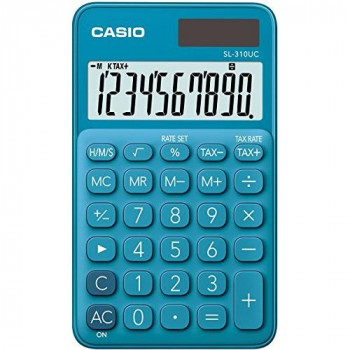 CASIO CALCULATRICE SL-310UC-BU, BLEU