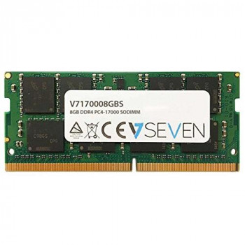 V7 V7170008GBS Notebook DDR4 SO-DIMM Memory Module 8GB (2133MHZ, CL15, PC4-17000, 260 polig, 1.2 Volt)