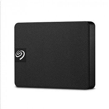 Seagate 500 GB Expansion SSD - Portable External Solid State Drive for PC and Mac (STJD500400)