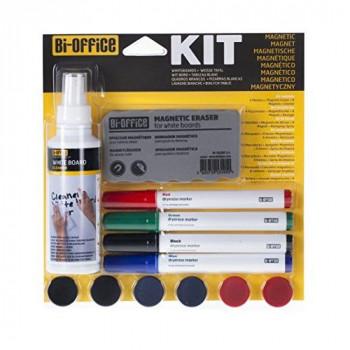 Bi-Office Magnetic Board Kit