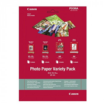 Canon A4 10 x 15 cm Photo Paper (Pack of 20)