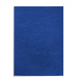 Fellowes Value A4 Leatherboard Covers - Blue (Pack of 100)
