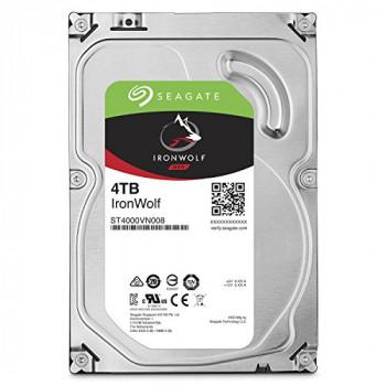 "Seagate 3.5"", 4TB, SATA3, IronWolf NAS Hard Drive, 5900RPM, 64MB Cache"