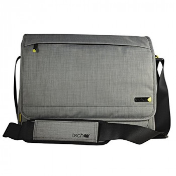 "Tech air TAEVMM008 15.6"" Messenger Grey - notebook cases (Messenger, Grey, Monotone, Polyester)"