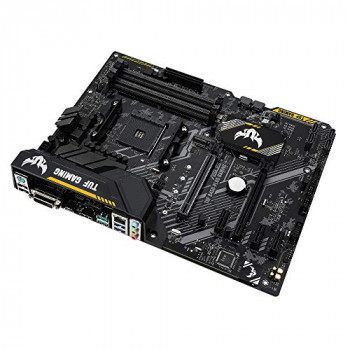 Asus TUF B450-PLUS GAMING AMD B450 AM4 ATX 4 DDR4 XFire DVI HDMI M.2 RGB Lighting 5 Year Warranty