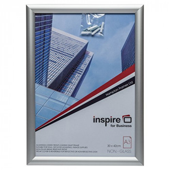 The Photo Album Company SNAPA3S A3 Inspire for Business Aluminum Snap Frame