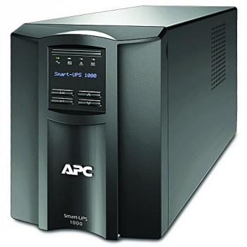 APC Smart-UPS SMT - SMT1000I - Uninterruptible Power Supply 1000VA (Line Interactive, AVR, LCD Panel, 8 Outlets IEC-C13, Shutdown Software)