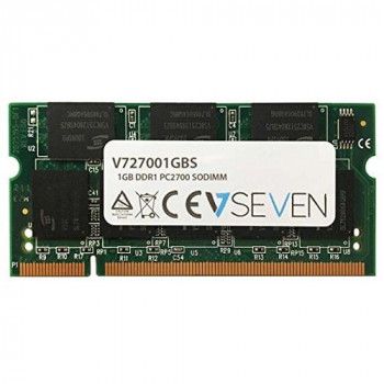 V7 V727001GBS Notebook DDR1 SO-DIMM Memory Module 1GB (333MHZ, CL2.5, PC2700, 200 polig, 2.5 Volt)