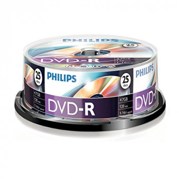 Philips DM4S6B25F 4.7 GB/120 min 16 x DVD-R - blank DVDs (DVD-R)