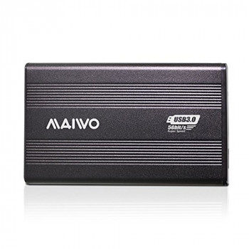 MAIWO USB 3.0 to 2.5 inch Sata External Aluminum Hard Drive Enclosure