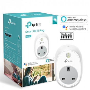 Kasa Smart WiFi Plug by TP-Link, Works with Amazon Alexa (Echo and Echo Dot), Google Home and IFTTT, No Hub Required, Control your Devices from Anywhere
