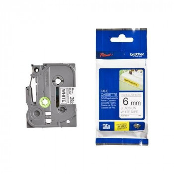 Brother TZES211 Label Tape - 6.35 mm Width - 1 Each
