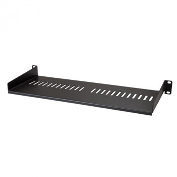 StarTech.com Vented 1U Rack Shelf - 7in Deep - 1U Vented Rack Shelf