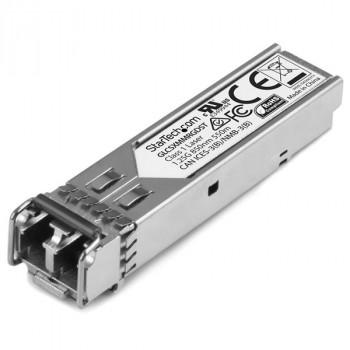 StarTech.com Cisco GLC-SX-MM-RGD Compatible SFP Module - 1000BASE-SX - SFP Fiber Optical Transceiver - Lifetime Warranty