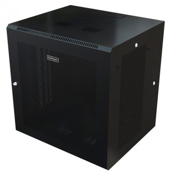 StarTech.com Wall Mount Network Rack Cabinet - Hinged Enclosure - 12U - Wall Mount Network Cabinet - 19.7in Deep