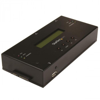 """StarTech.com 1:1 Standalone Hard Drive Duplicator and Eraser for 2.5""""/3.5"""" SATA and SAS Drives -  HDD/SSD Cloner and Eraser"""